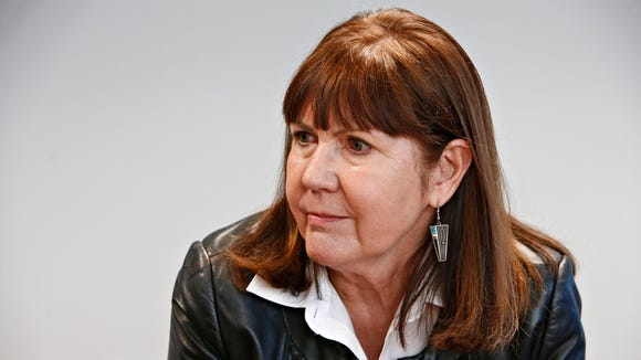 U.S. Rep. Ann Kirkpatrick, D-Ariz., in the editorial boardroom of The Arizona Republic on January 14, 2016.