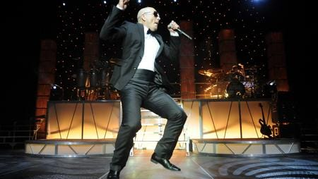 Grammy Award-winning rapper Pitbull will return to El Paso to perform July 20 at the Don Haskins Center on the University of Texas at El Paso campus. Latin superstar Prince Royce also will perform.