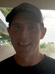 Greg Gaiser, 29, Phoenix firefighter with Station 22.
