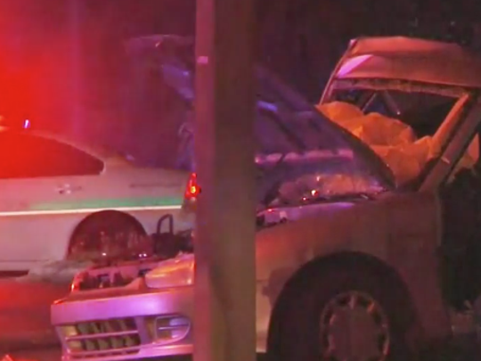 A Merrit Island man was involved in a crash that killed two people early Thursday.