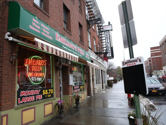 Emiliano's Pizza in the City of Poughkeepsie on Friday