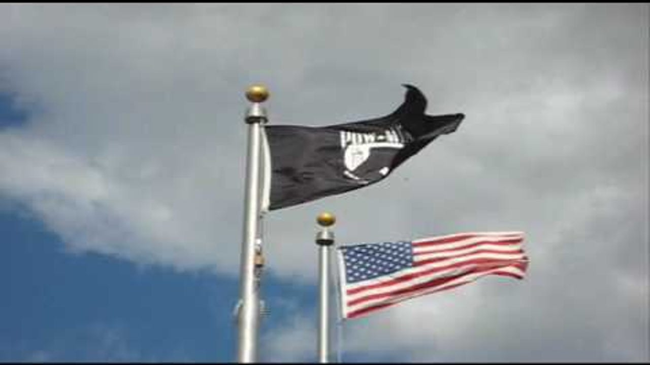 "Two state senators are calling for the POW/MIA flag to fly at all commonwealth buildings, welcome centers and rest stops ... ""until all POWs and MIAs are returned or accounted for."""