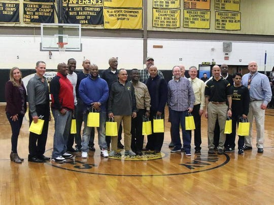 Piscataway honored its 1993-94 NJSIAA Group IV championship