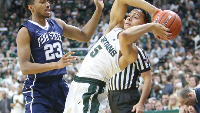 Michigan State's Bryn Forbes