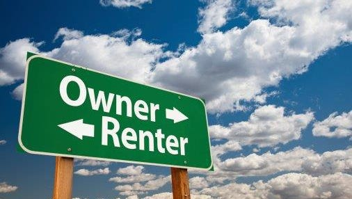 Owning vs. renting.