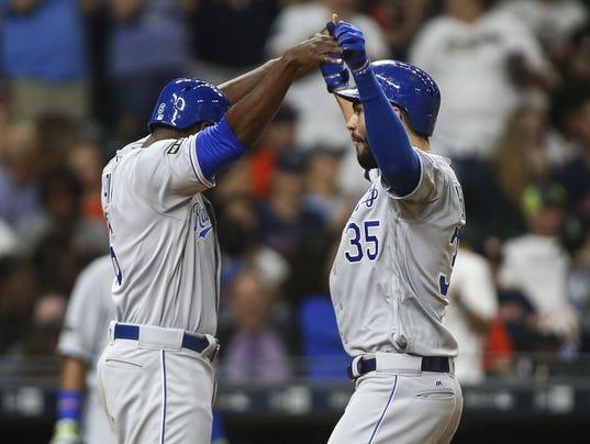 USP MLB: KANSAS CITY ROYALS AT HOUSTON ASTROS S BBA HOU KC USA TX