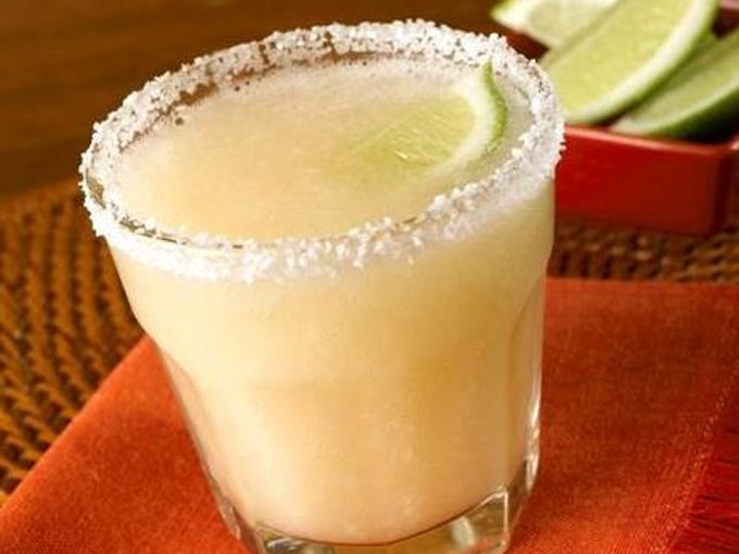 The Little Larry margarita from Z'Tejas is a smaller