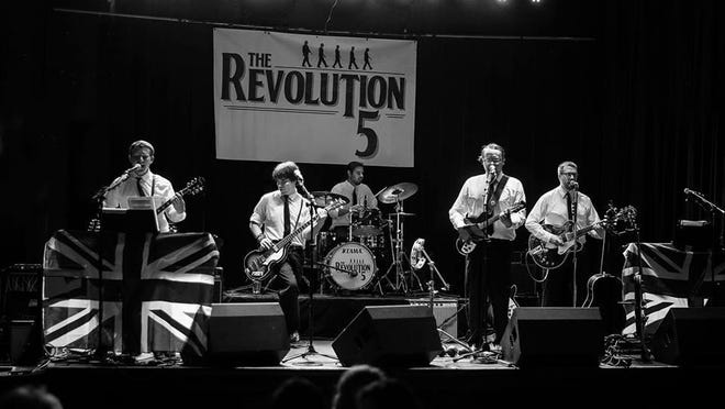 The Revolution 5 is a Beatles cover band.