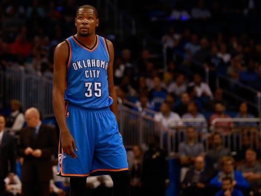NBA: Oklahoma City Thunder at Orlando Magic
