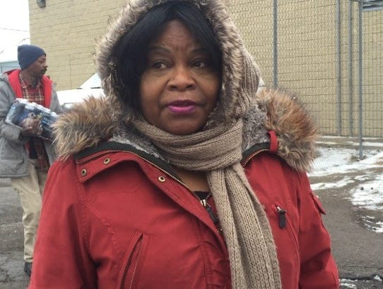 Maxine Perry, a lifelong Flint resident, said she's