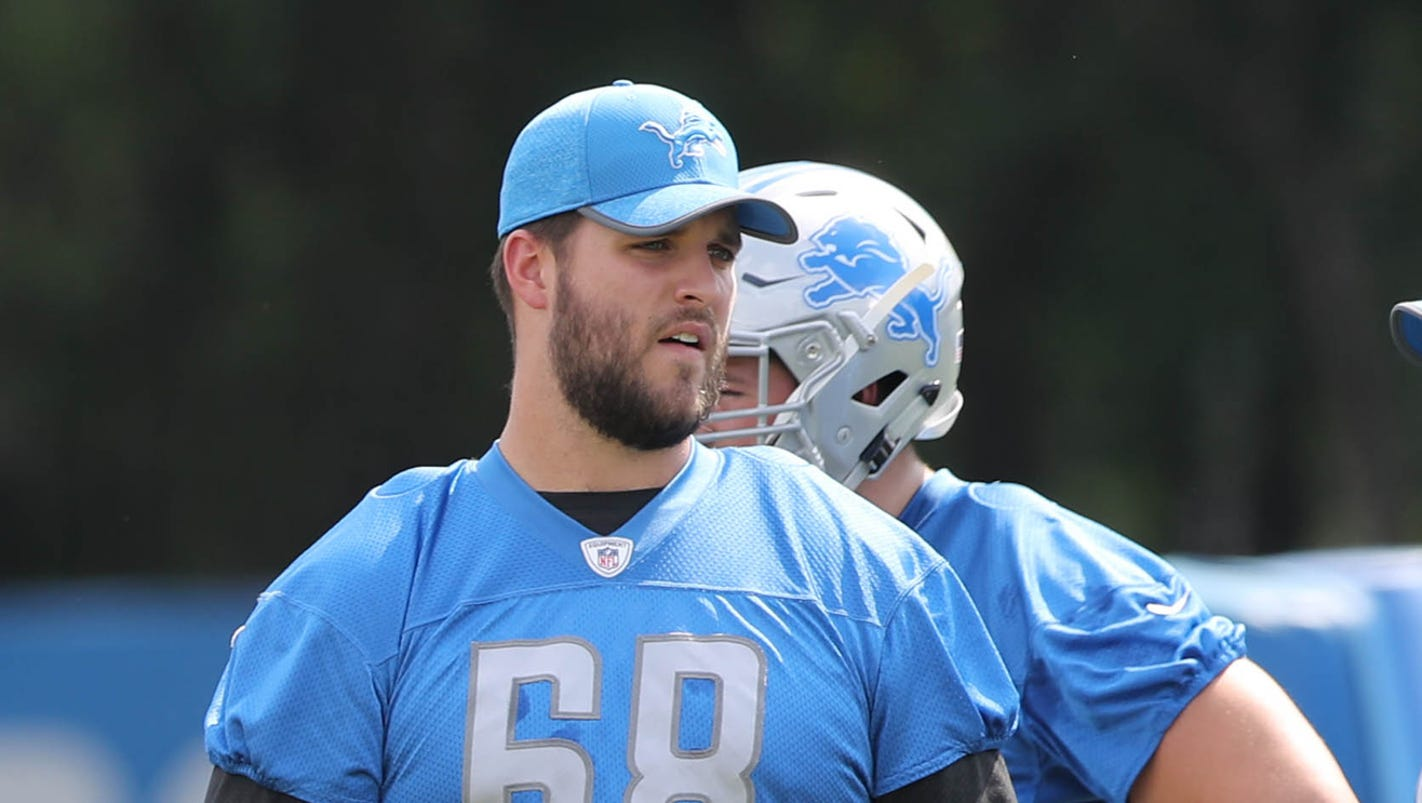 Detroit Lions OT Taylor Decker ting more and more antsy to return