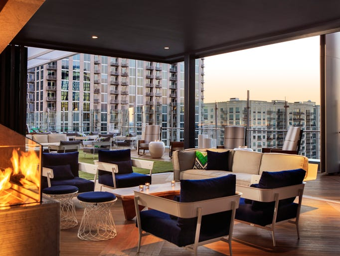 The new Kimpton Tryon Hotel in Charlotte, N.C., has