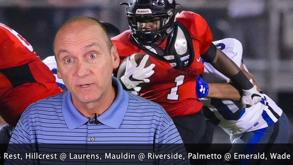 """The lineup includes Union County-Eastside, Mauldin-Riverside and St. Joseph's-Christ Church in the Week 6edition of """"Seven Points with Bob Castello."""""""