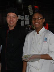 Sushi Chef John Shi, owner of Sushi Lovers Restaurant