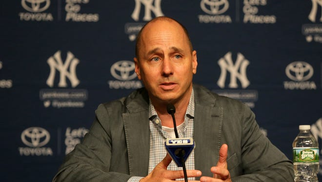 The Yankees have won four World Series titles under Brian Cashman's watch.