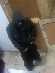 This man is wanted by El Paso police after the robbery