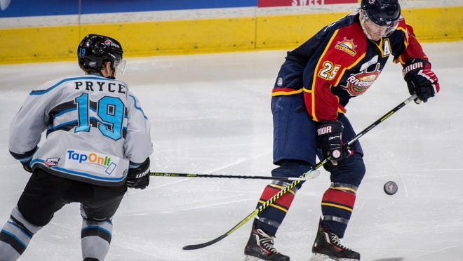 Peoria Rivermen defenseman Nick Neville was named an SPHL First-Team All-Star on Friday, April 10, 2020.