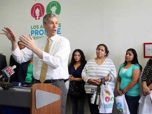 AP Education Arne Duncan