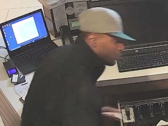City of Brookfield Police have released surveillance photos of a suspect in the Oct. 31 armed robbery at Best Western Hotel, 1005 S. Moorland Road.