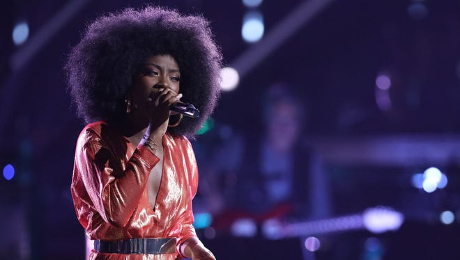 """Christiana Danielle is a Top 12 competitor on """"The Voice."""""""