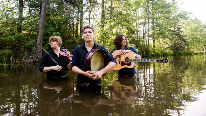 Hailing from Prince Edward Island, Canada, Ten Strings And A Goat Skin play a mix of Celtic folk tunes infused with modern and world rhythms.