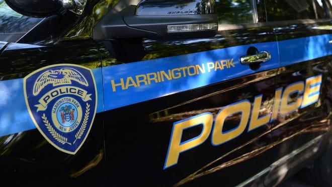 A Harrington Park police car.