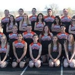 Capitan High School boys and girls track and field teams.