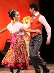 The Calpulli Mexican Dance Company.