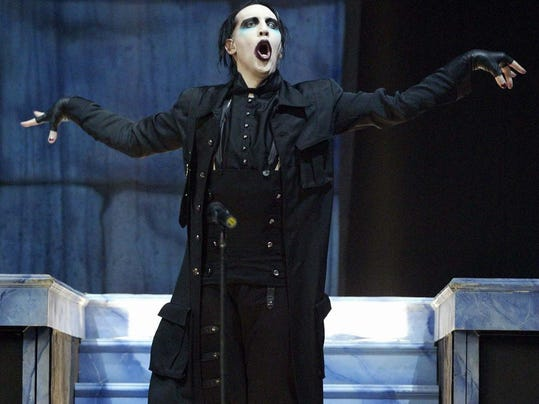 Antichrist No More Marilyn Manson Leads 90s Revival