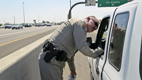 Will writing more tickets curb the rise in highway