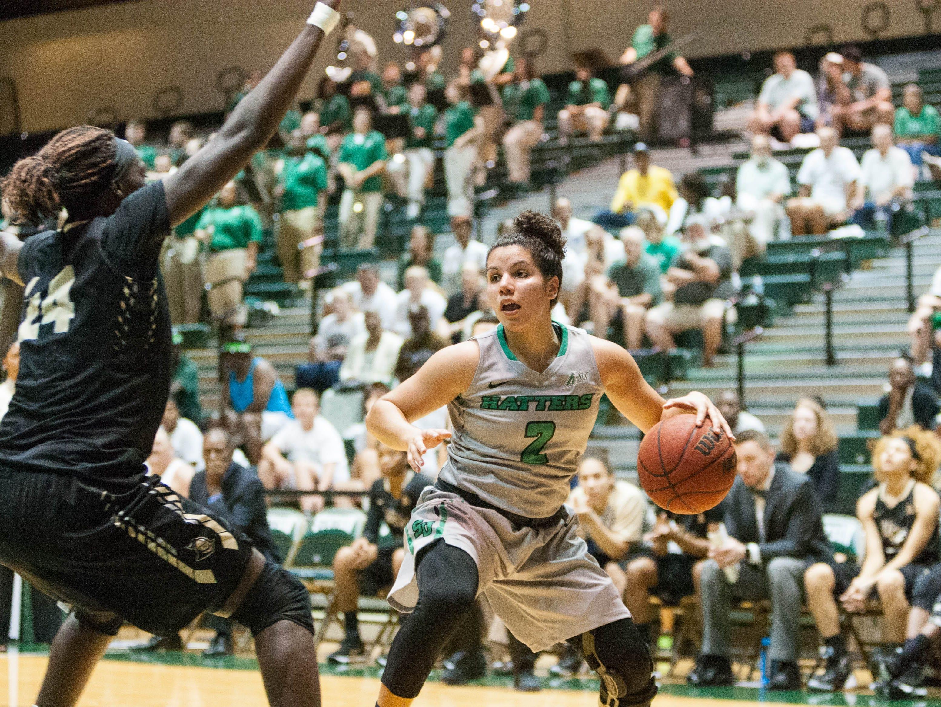 McKenna Beach has been contributing to the Stetson University women's basketball team as a freshman.