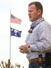 Anderson County Sheriff Chad McBride.