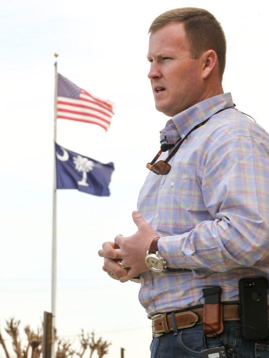 Chad McBride Anderson County Sheriff