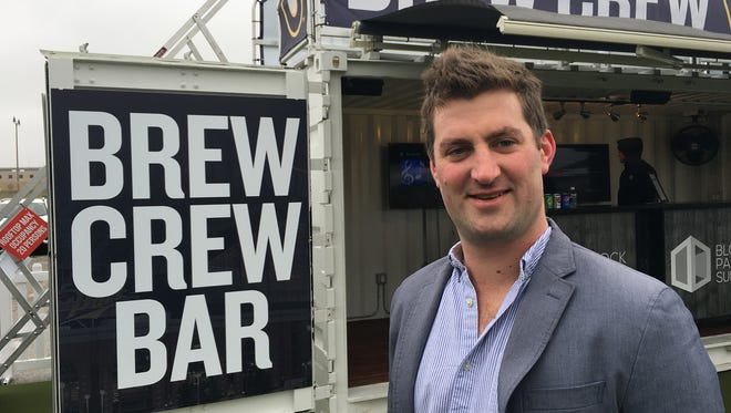 Steve Gilman is one of the co-founders of Block Party Suites, a Dallas company that's behind the Brew City Bar.