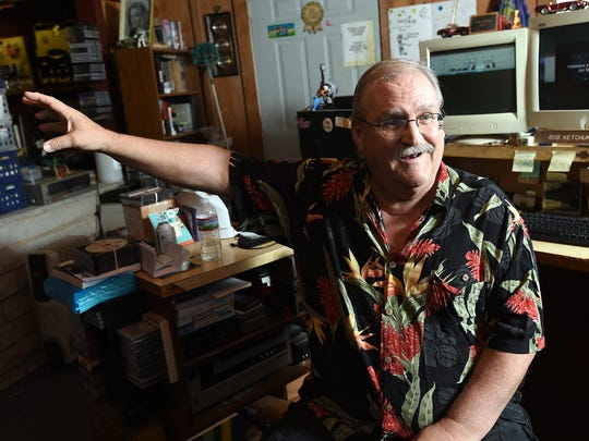 Bob Ketchum talks about his life as a musician, studio owner and documentarian while sitting in his Cedar Crest Studio at his Henderson home.