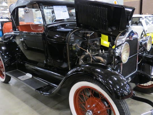 A 1929 Ford Model A car was a big hit during the 43rd annual Classic Car Show & Auction in Atlantic City.