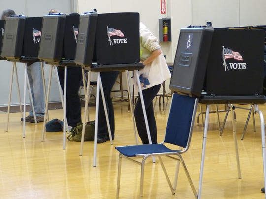 Redding-area residents cast votes in the 2016 general election.