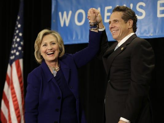 Hillary Rodham Clinton, Andrew Cuomo