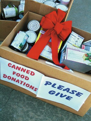 Food drives help feed the hungry.