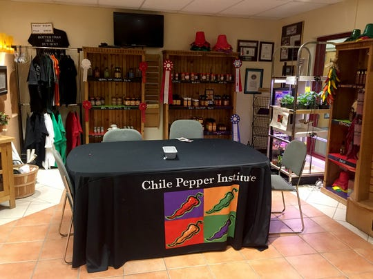 The New Mexico State University's Chile Pepper Institute is open Monday to Friday from 8 a.m. to 5 p.m. in Gerald Thomas Hall,  Room 265. All proceeds from Chile Pepper Institute sales go to funding student research and employment, and the $1 million Endowed Chile Pepper Research Chair campaign.