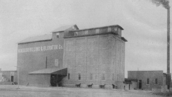 Windsor's flour mill at the turn of the 20th century.