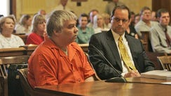 Steven Avery addresses Judge Patrick L. Willis during