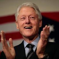 Bill Clinton makes Hillary's case in Cincinnati