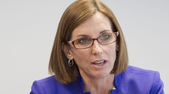 Republican Rep. Martha McSally is one of the most bipartisan
