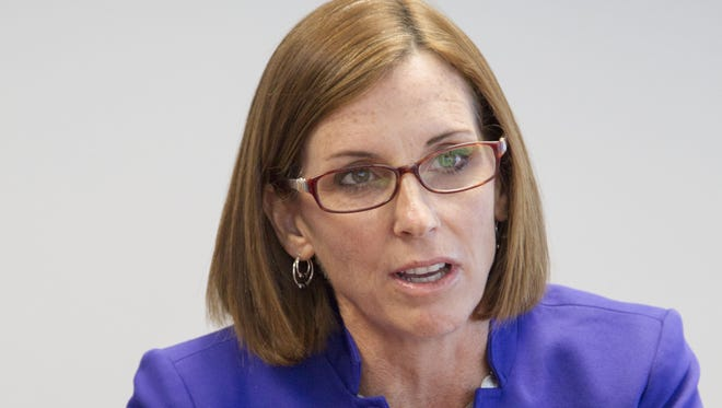 Republican Rep. Martha McSally is one of the most bipartisan members of the House, according to a new study.