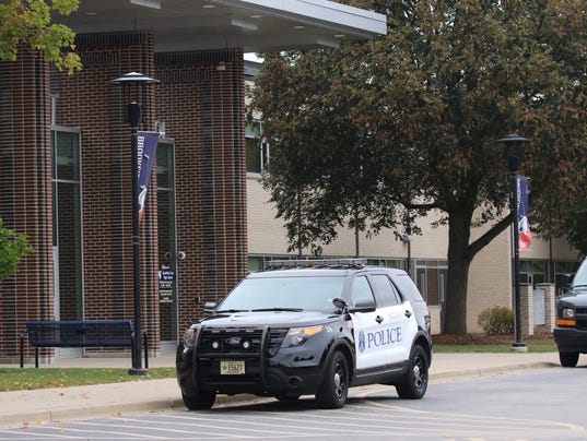 Police Presence at Brookfield East High School