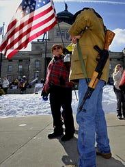 flag FAL 0409 Guns in Montana
