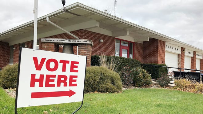 Voting polls were open on Tuesday, Nov. 6, for the general election in Keystone.