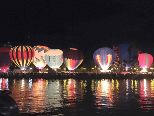 Lakeshore Balloon Glow
