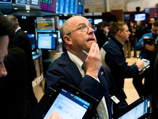 New York Stock Exchange, USA - 09 Feb 2018